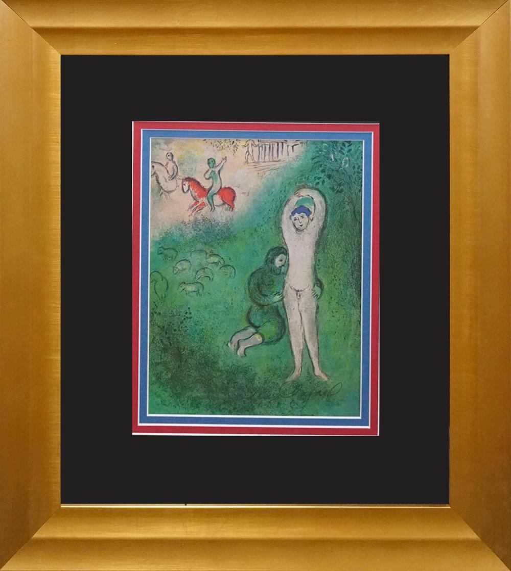 Lot 3065: Marc Chagall hand signed lithograph