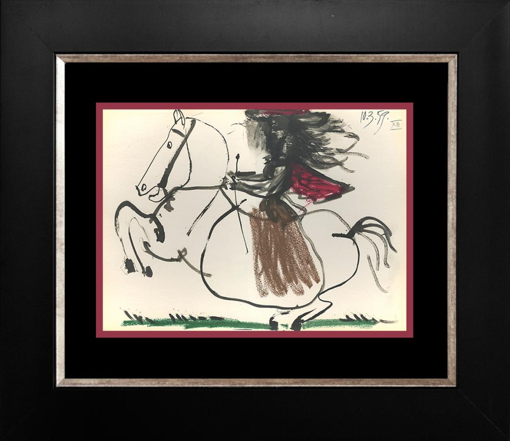 Lot 3056: Pablo Picasso Lithograph from 1961