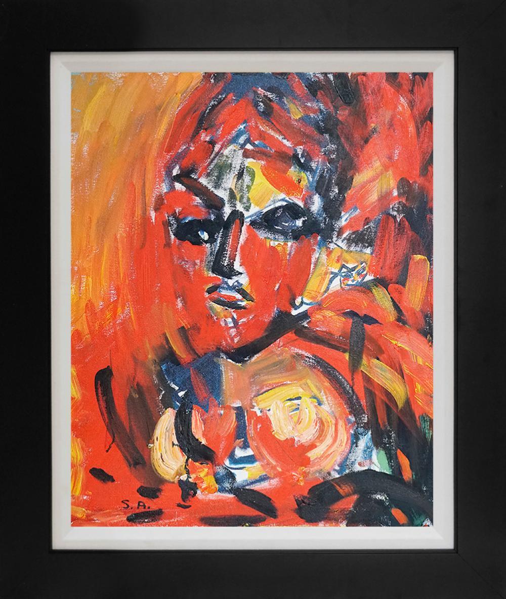 Lot 3077: Sylvia Adler Limited edition hand embellished on canvas