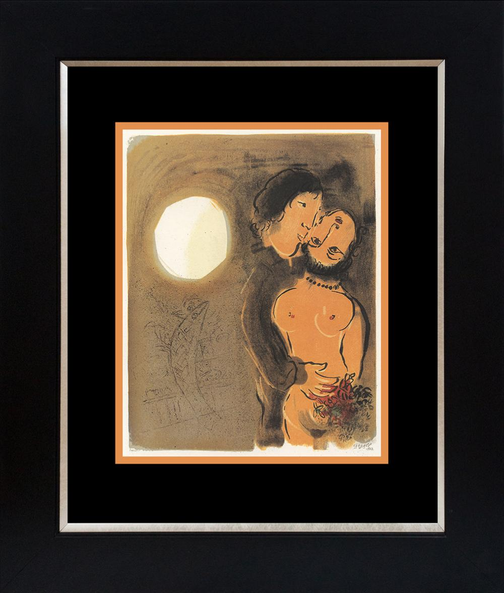 Lot 3069: Marc Chagall Lithograph from 1965