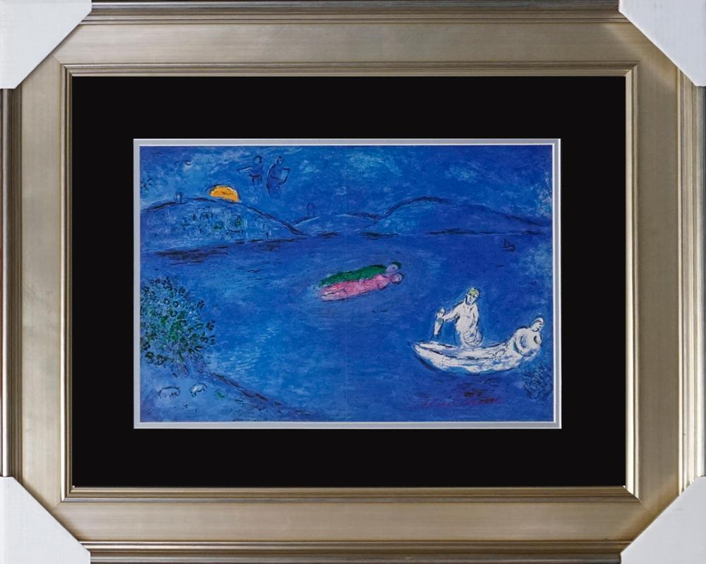 Lot 3066: Marc Chagall Hand Signed Lithograph