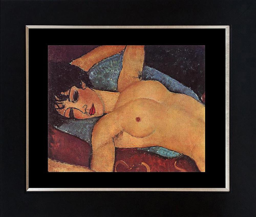 Lot 3104: Modigliani Color plate lithograph from 1965