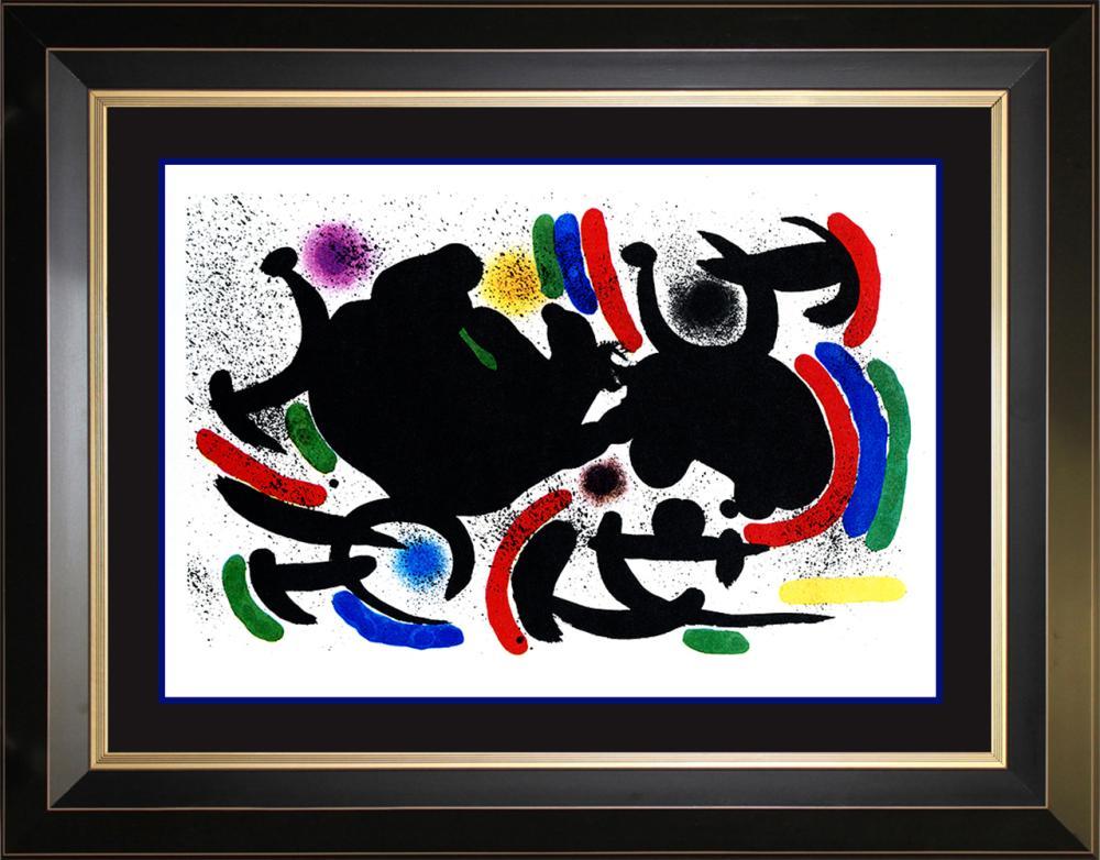 Lot 3099: Joan Miro Original Lithograph Hand signed
