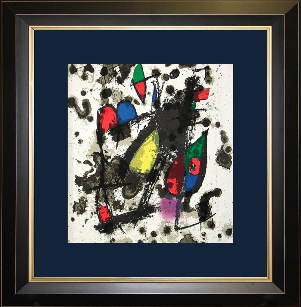 Lot 3100: Joan Miro Original Lithograph Hand Signed