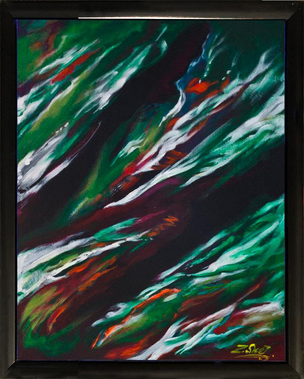 Lot 3102: Zinovy Shersher original oil on canvas