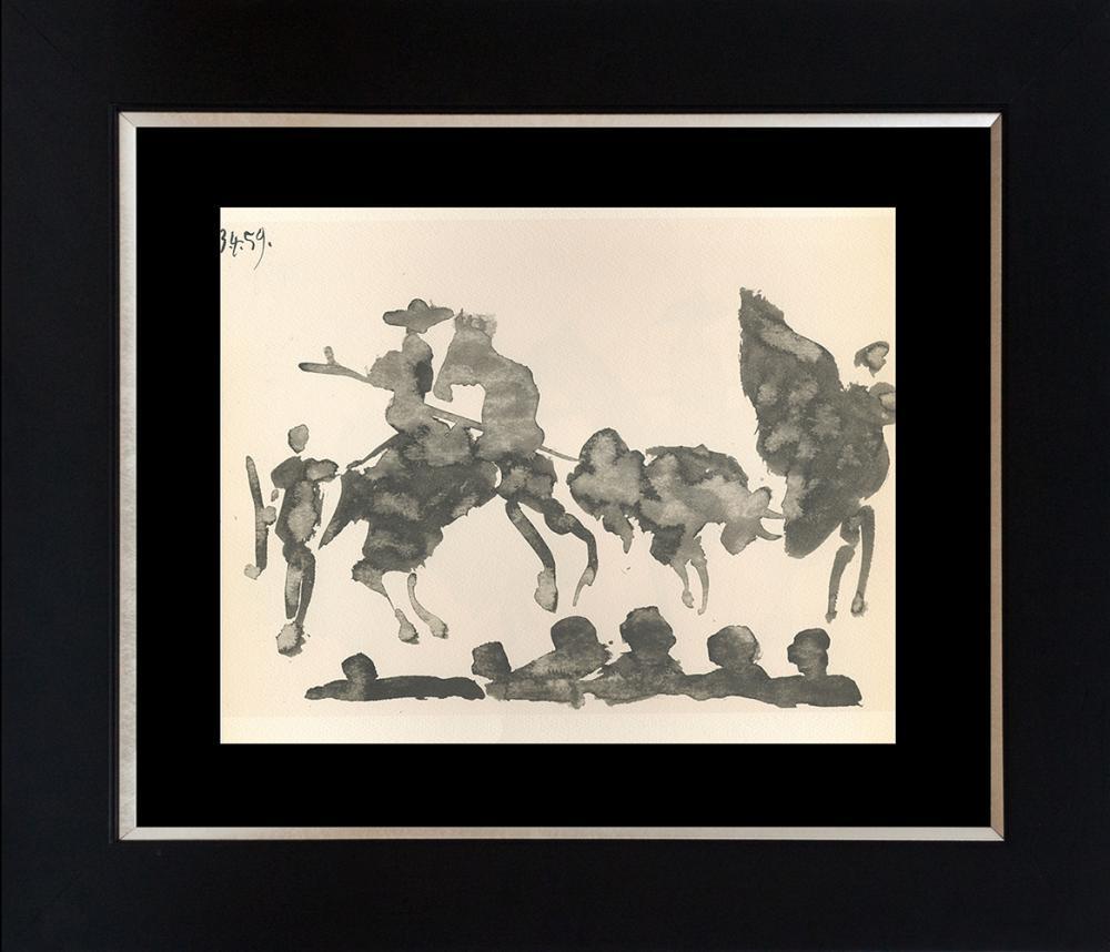Lot 3112: Pablo Picasso 1961 Lithograph Toros Y Toreros.