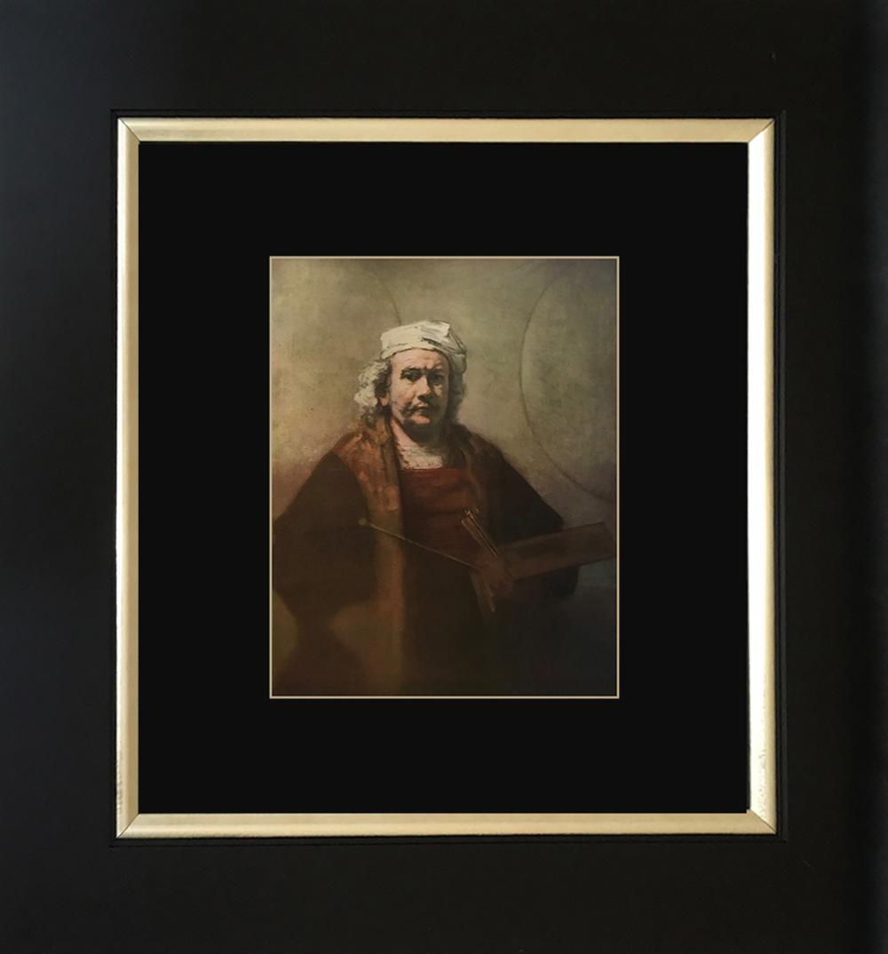 Lot 3133: Rembrandt Color Plate Lithograph