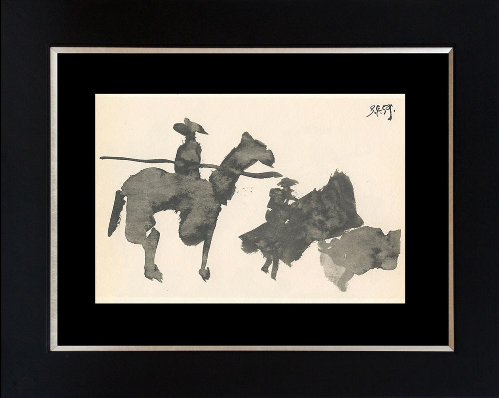 Lot 3113: Pablo Picasso 1961 Lithograph Toros Y Toreros.