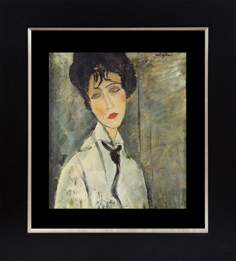 Lot 3105: Modigliani Color plate lithograph from 1965