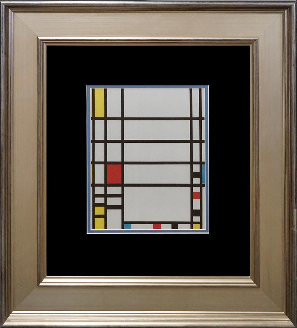 Lot 3148: Piet Mondrian Lithograph from 1973