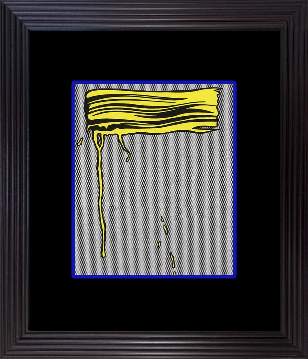 Lot 3139: Roy Lichtenstein 1996 Yellow Lithograph