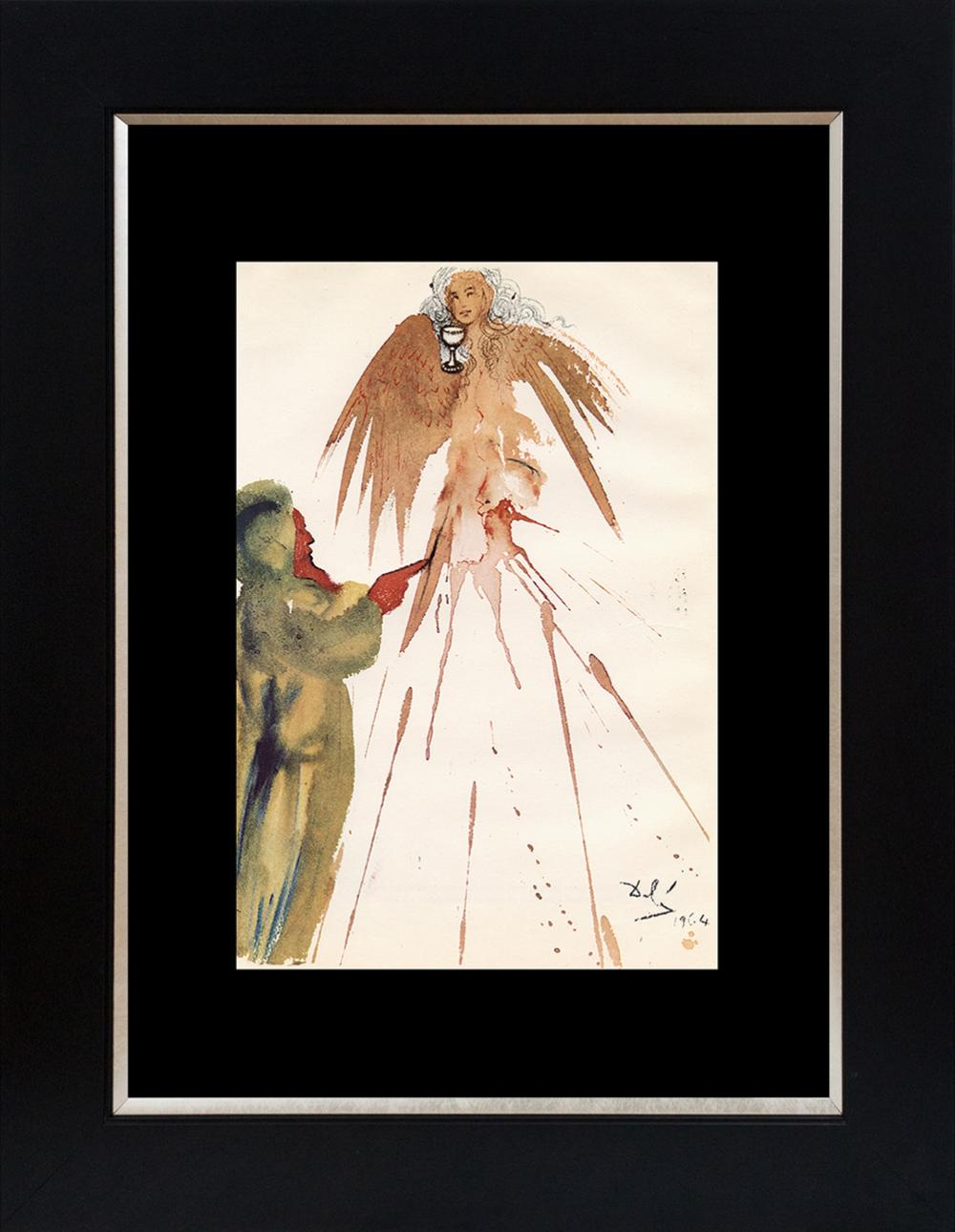 Lot 3127: Salvador Dali Biblia Sacre Lithograph from 1969