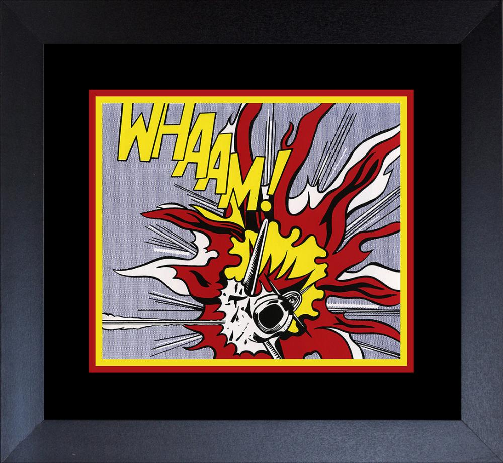 Lot 3124: Roy Lichtenstein Color Plate Lithograph