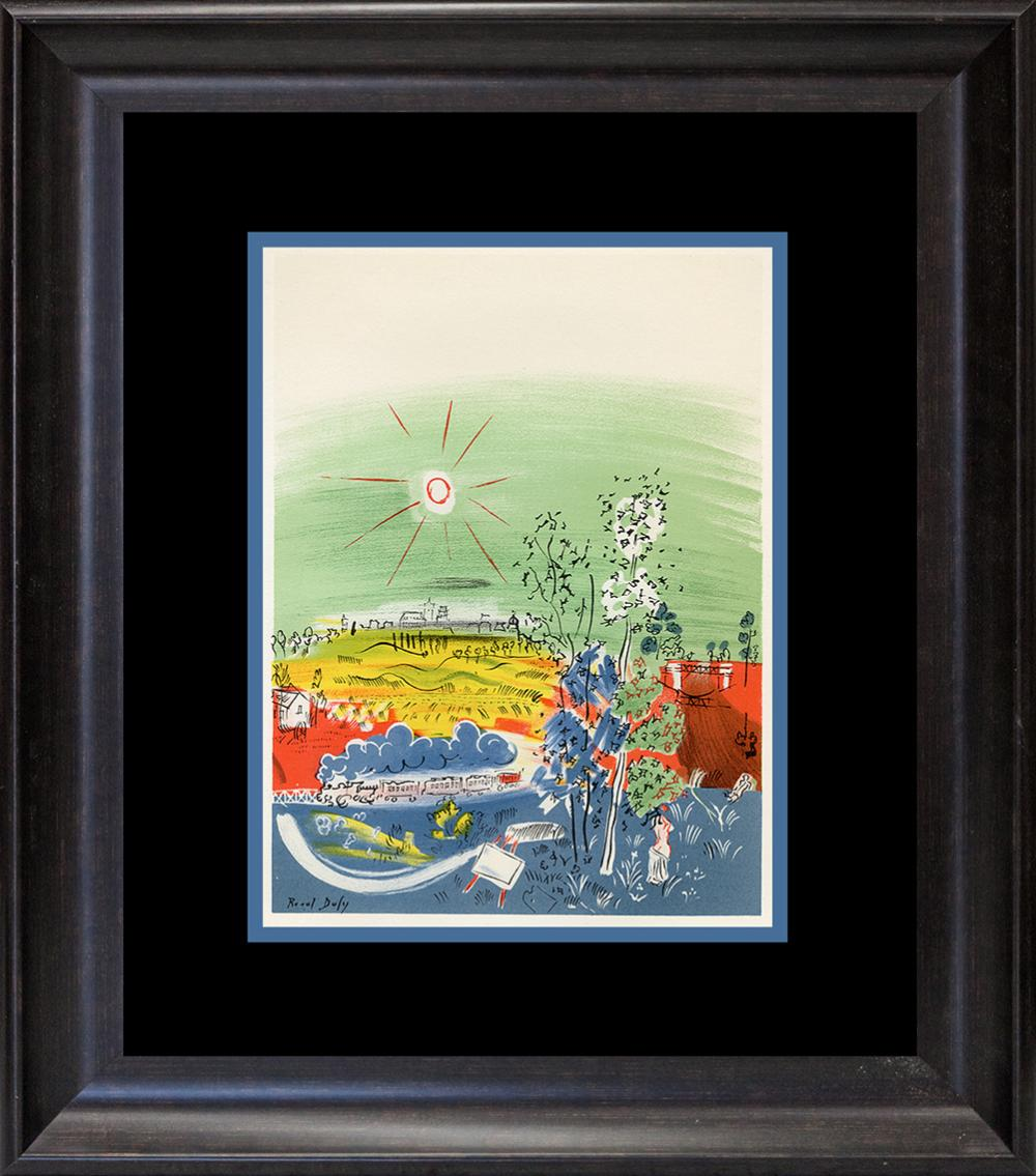 Lot 3130: Dufy Lithograph from the Maeght Foundation from 1959