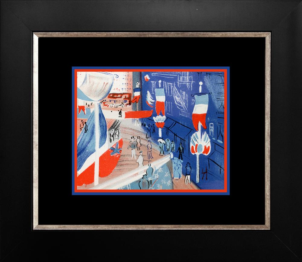 Lot 3129: Dufy 1959 Lithograph from Mourlot Press in Paris