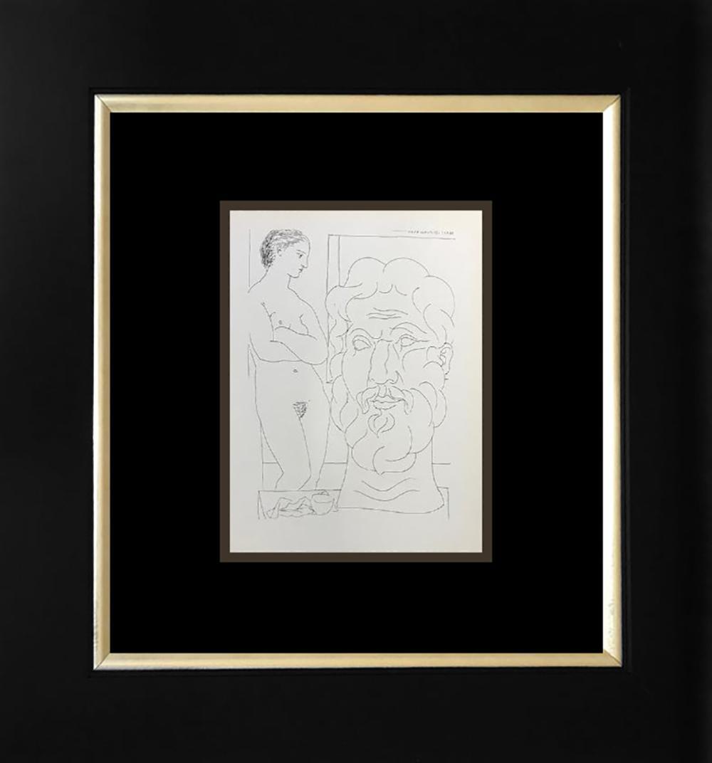Lot 3178: Pablo Picasso Lithograph 1956 Mourlot Press Vollard Suite