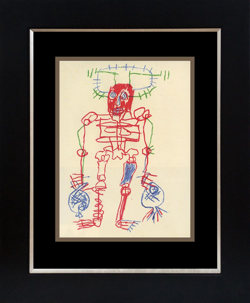 Lot 3170: Jean Michel Basquiat Lithograph from 1983