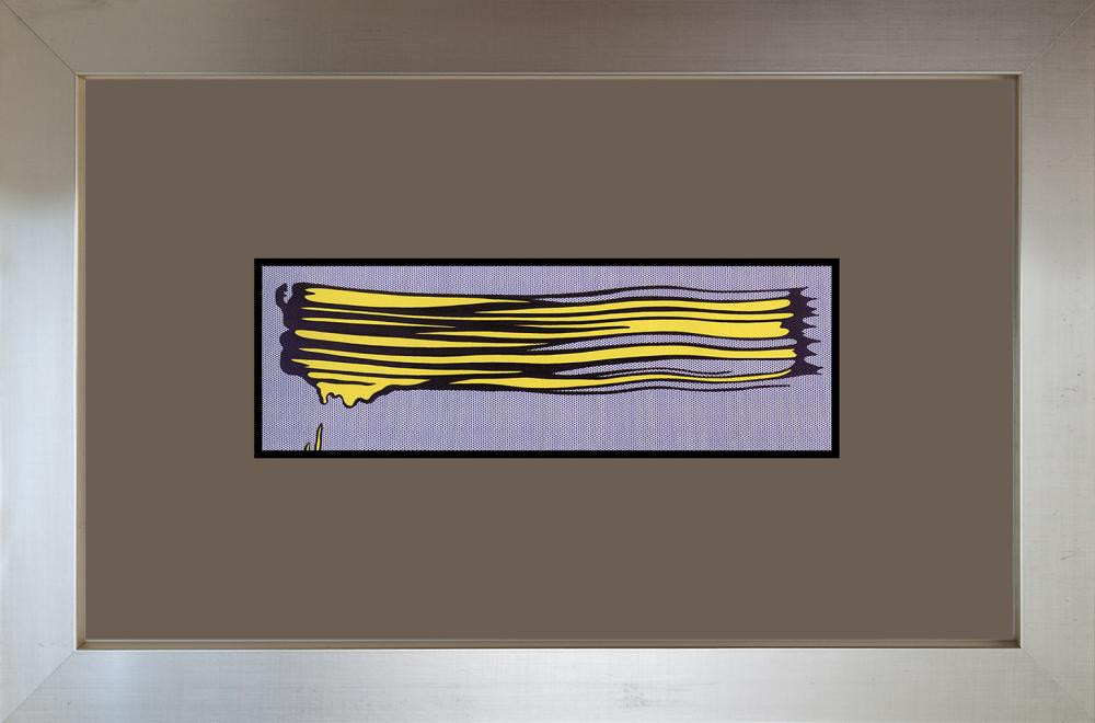 Lot 3137: Roy Lichtenstein 1993 Color Plate Lithograph