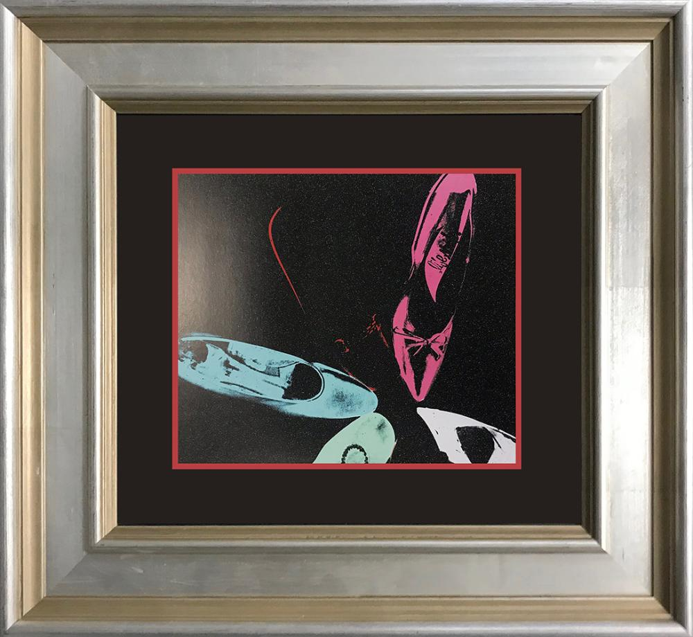 Lot 3171: Andy Warhol Color Plate Lithograph