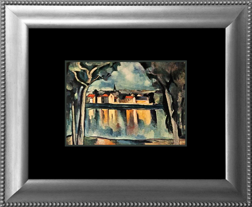 Lot 3196: Maurice De Vlaminck color plate Lithograph Hermitage Collection