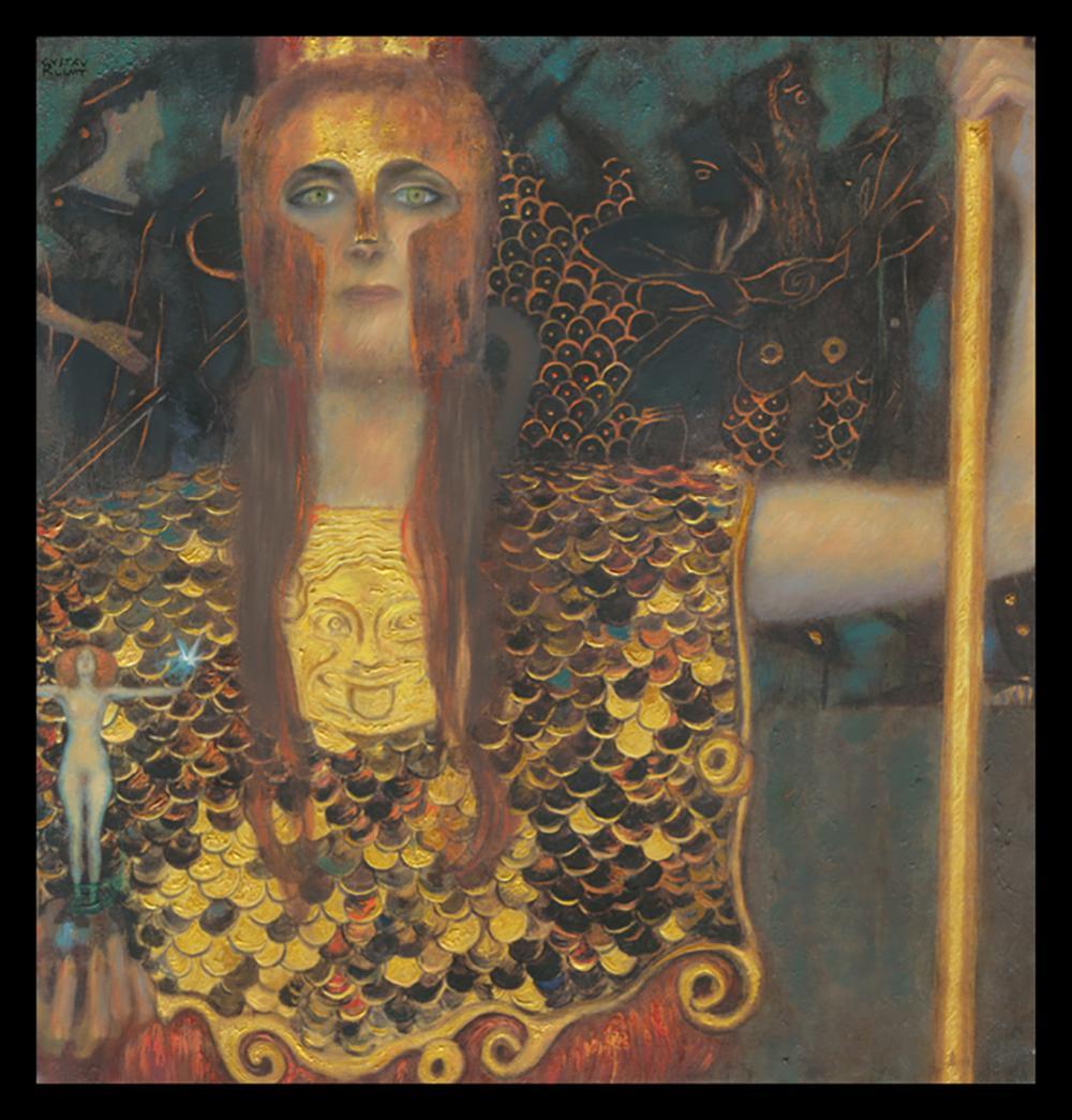 Lot 3190: After Gustav Klimt Palais Athene