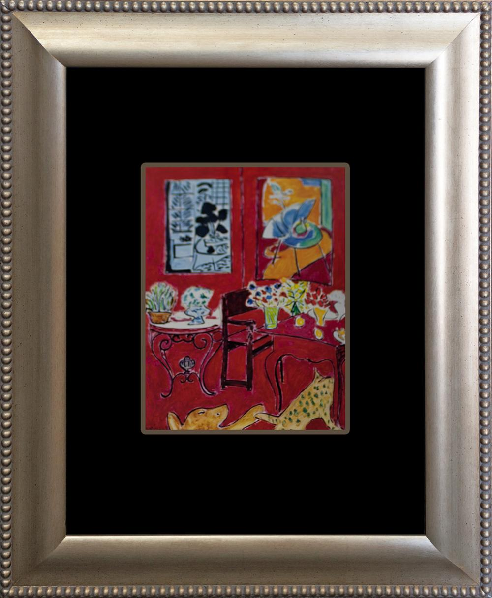 Lot 3189: Henri Matisse Litho - The Red Room - 45 year ago lithograph