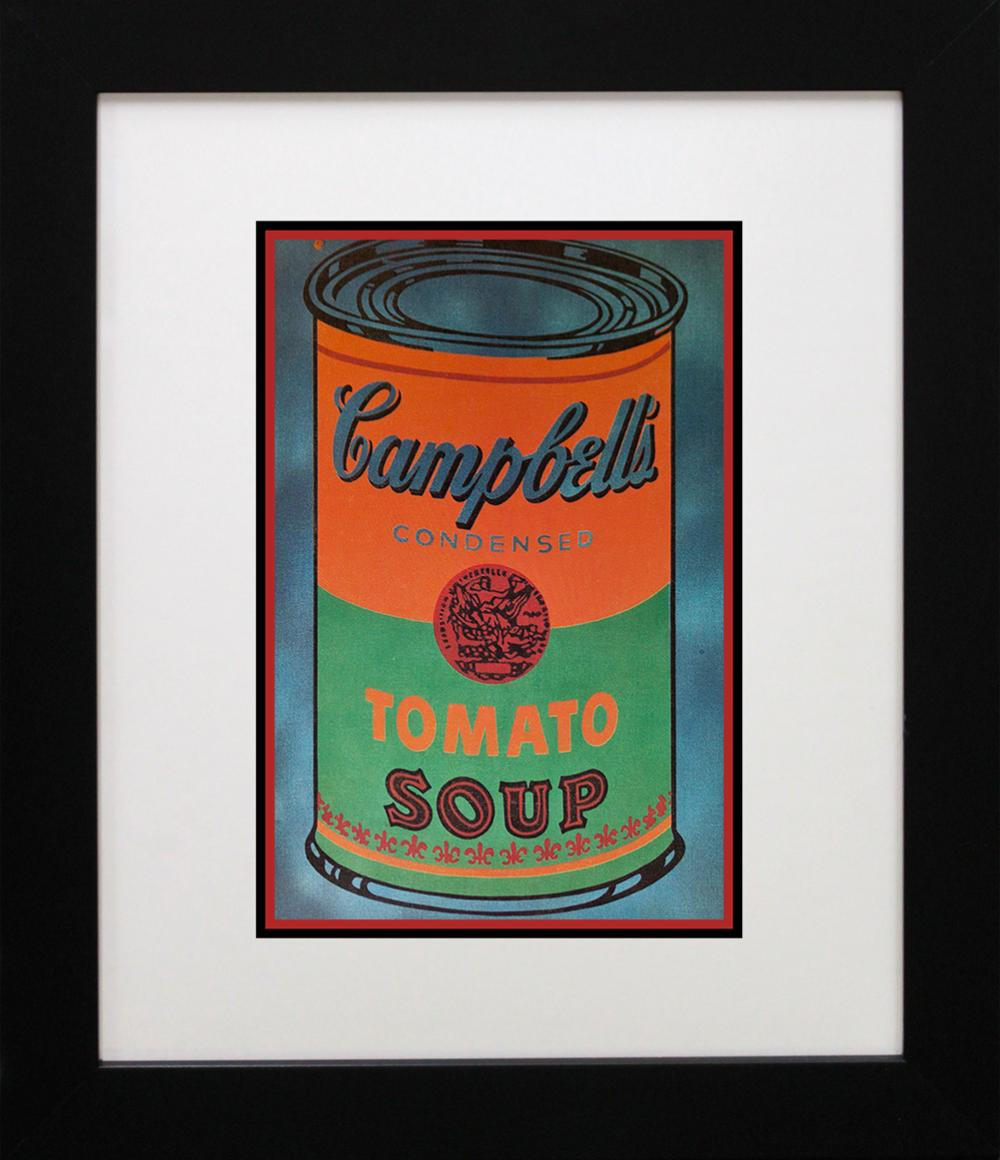 Lot 3175: Andy Warhol Lithograph printed in Germany 25 years ago