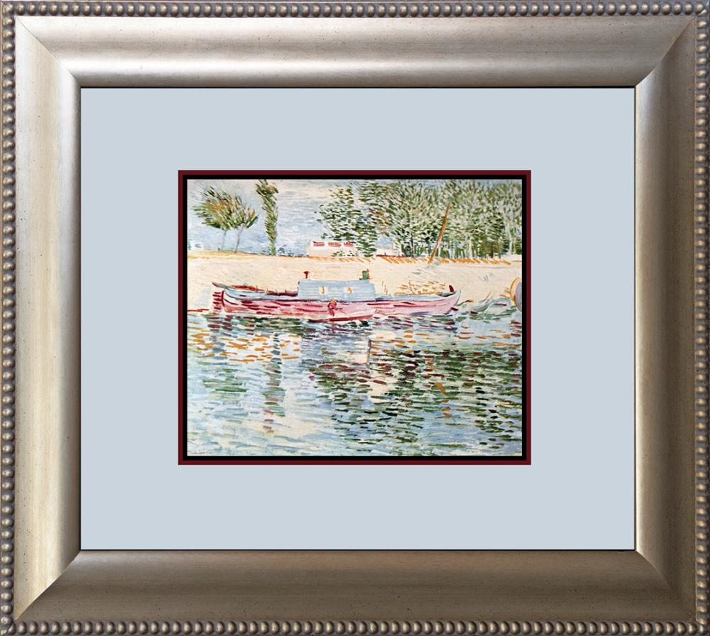 Lot 3197: Maurice De Vlaminck Boat from Sea Color Plate Lithograph over 55 year ago