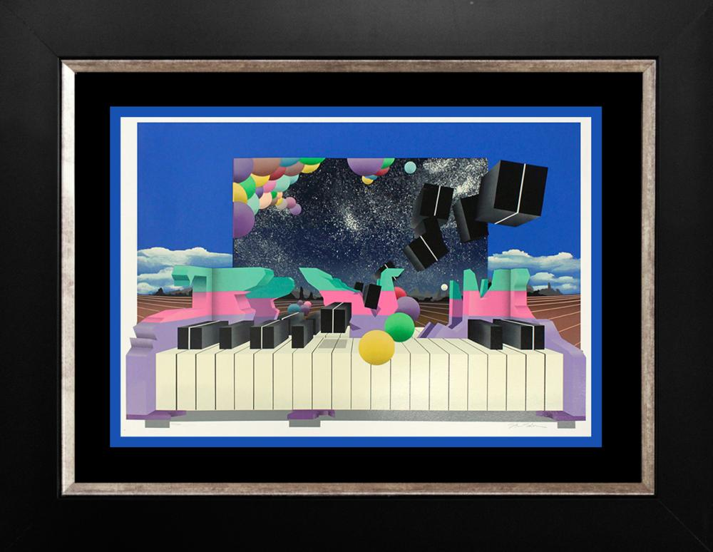 Lot 3207: Limited Edition Serigraph Mark King