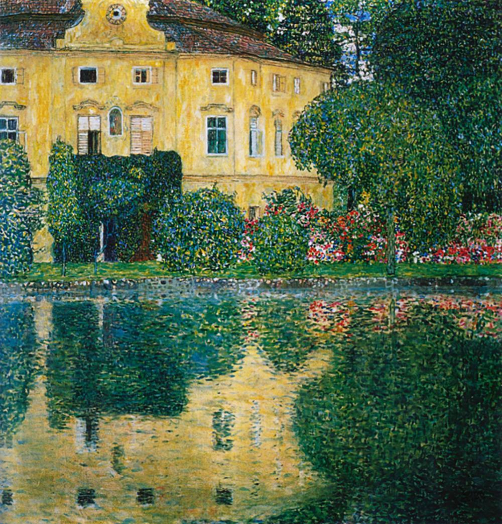 Lot 3192: Gustav Klimt Hand Embellished Canvas 32 x 32 image