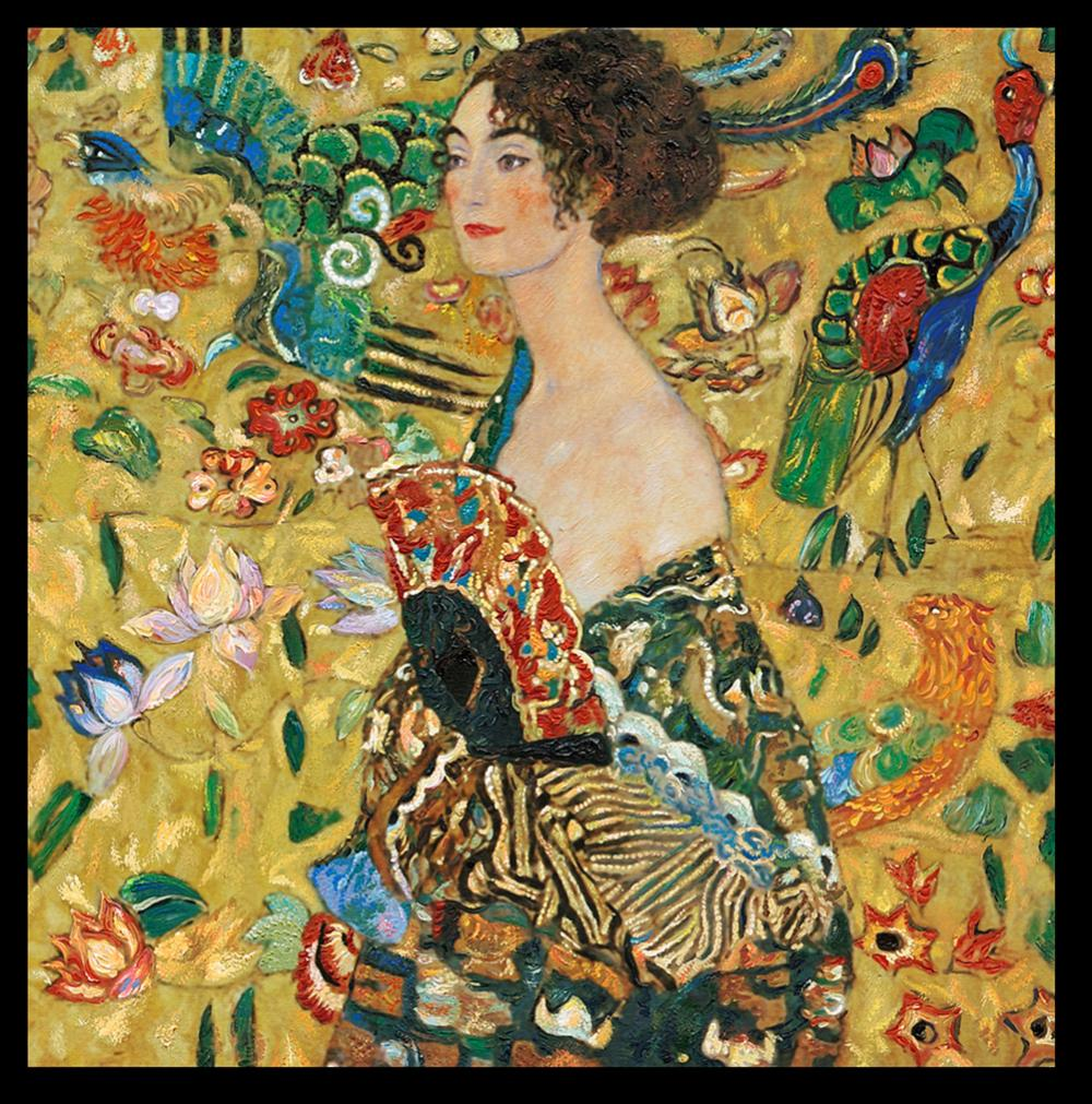 Lot 3193: After Gustav Klimt Woman with Basket