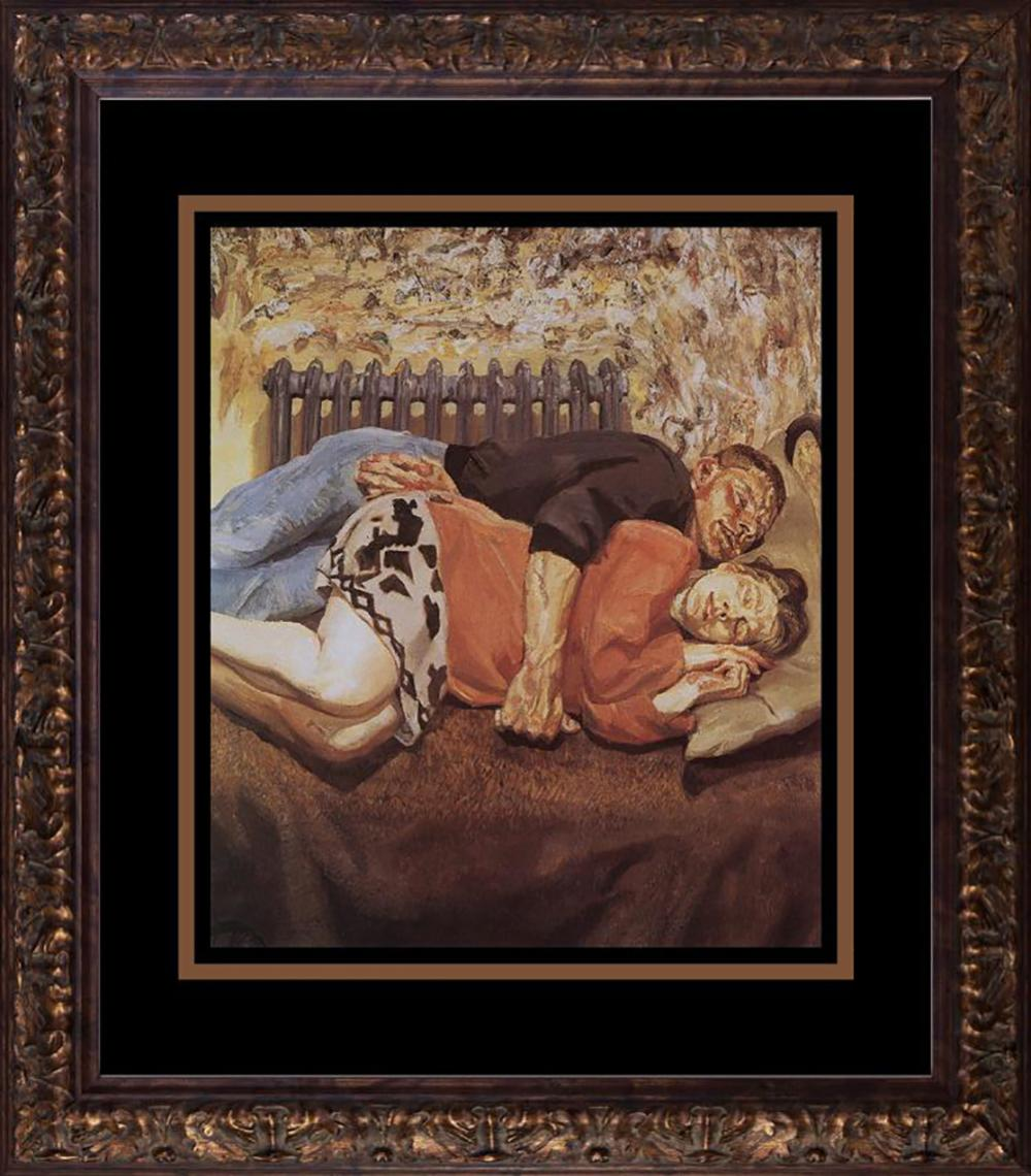 Lot 3225: Lucien Freud Color Plate Lithograph