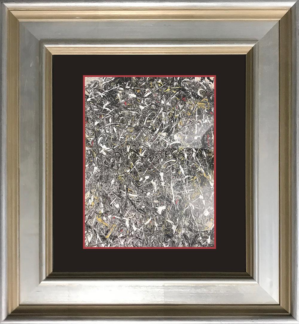 Lot 3244: Jackson Pollock color plate lithograph