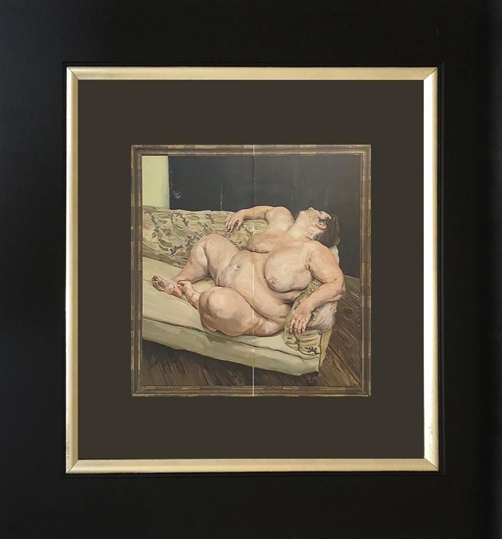 Lot 3223: Lucien Freud color plate lithograph