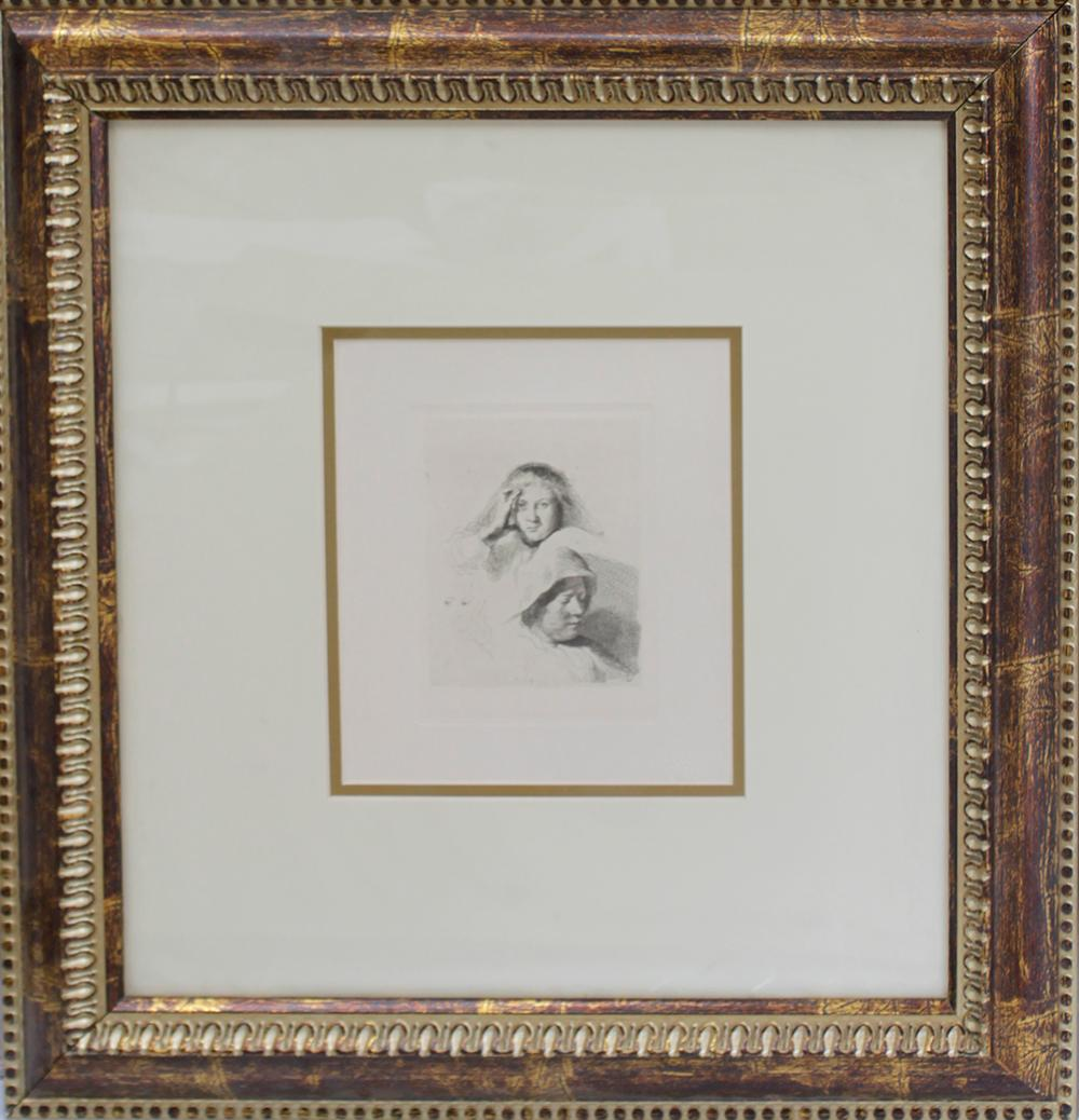 Lot 3224: Lucien Freud Etching