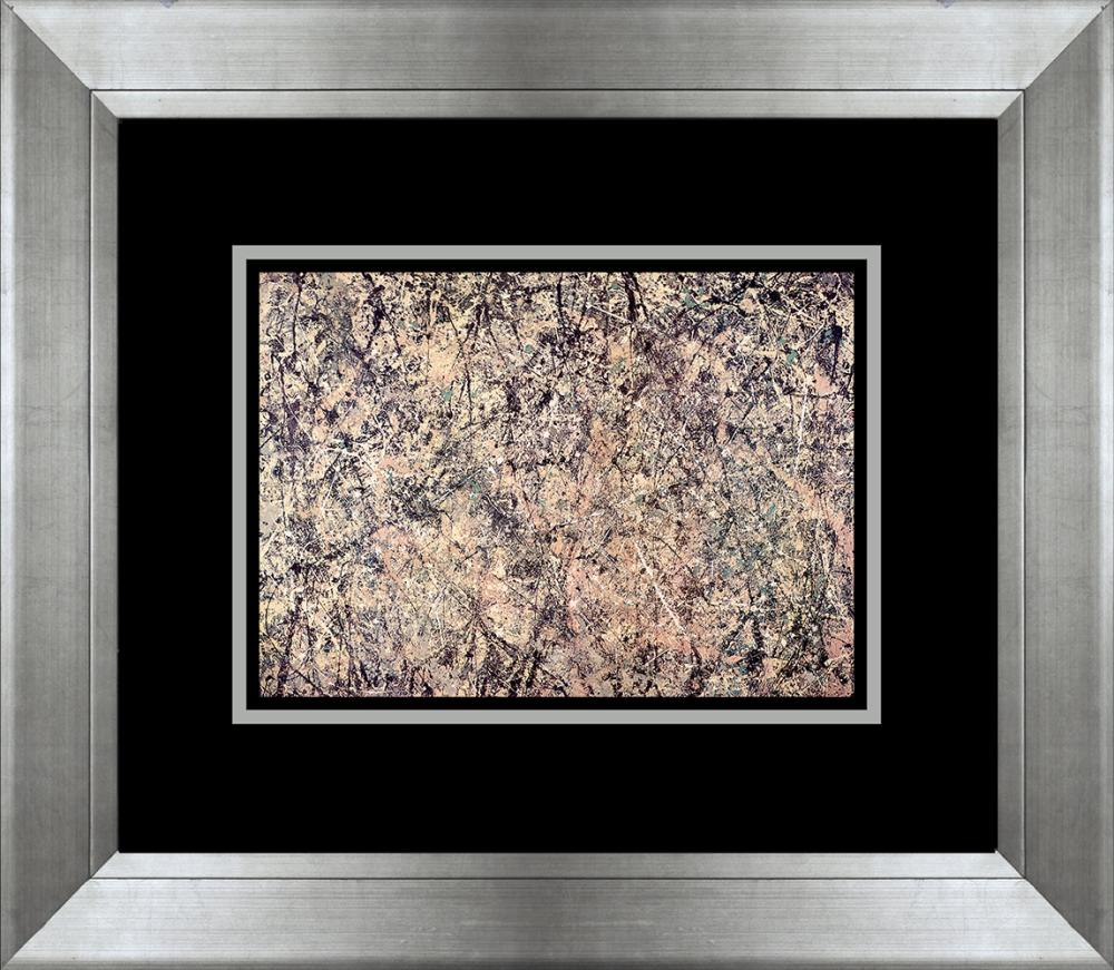 Lot 3236: Jackson Pollock color plate lithograph Number One