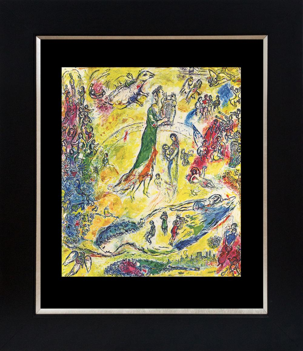 Lot 3219: Marc Chagall Lithograph from 1975