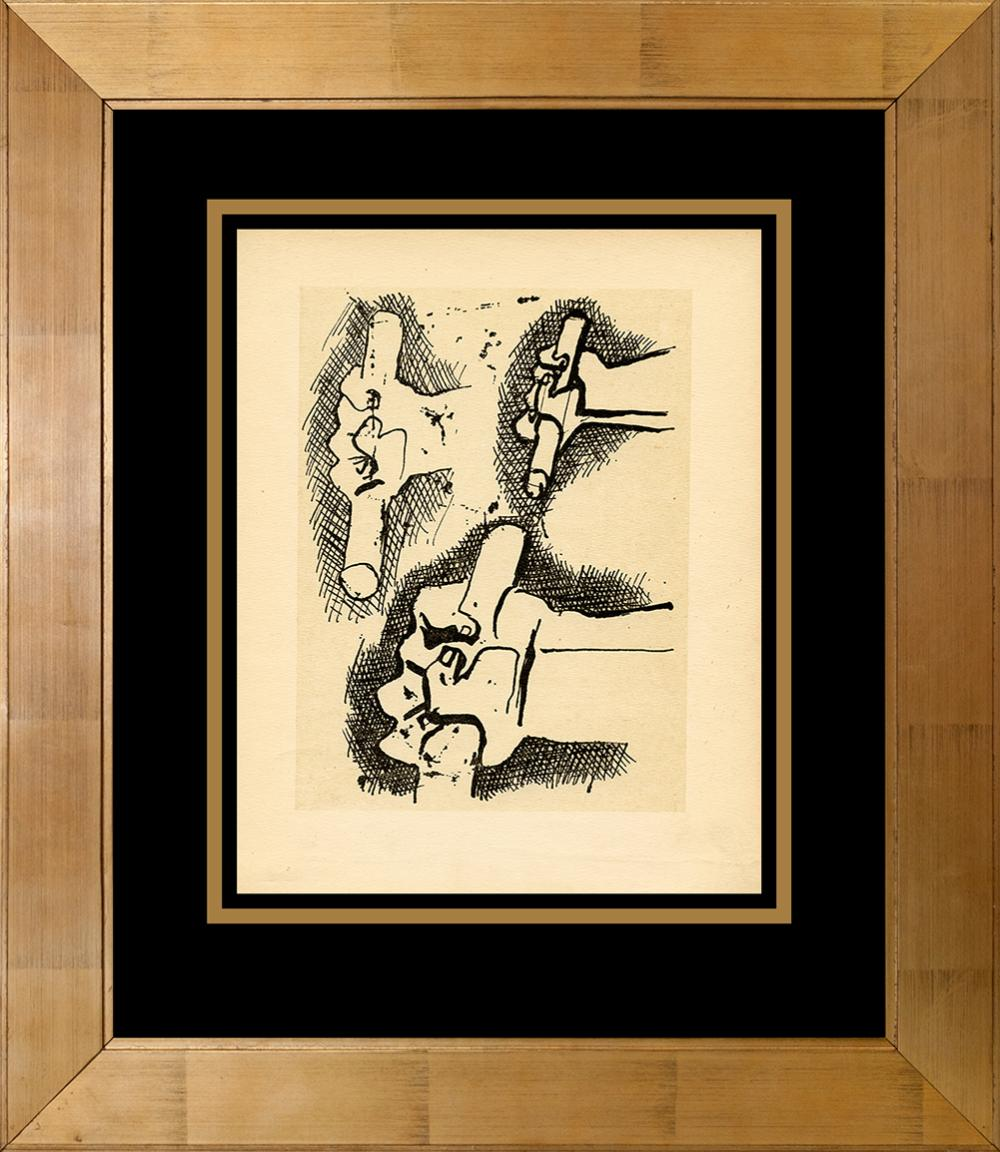 Lot 3241: Picasso antique lithograph from 1956