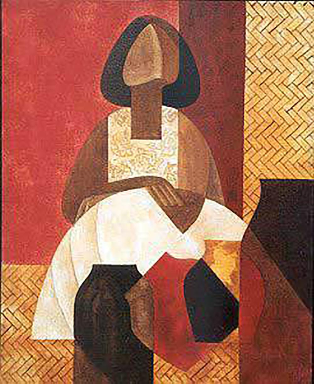 Lot 3233: Lalo Garcia Original on canvas.