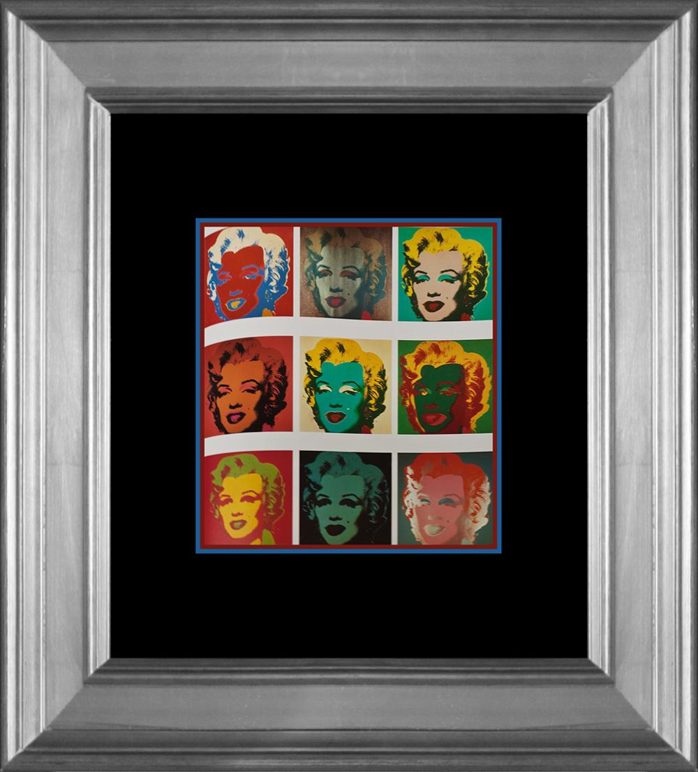 Lot 3247: Andy Warhol Lithograph printed in Germany 25 years ago
