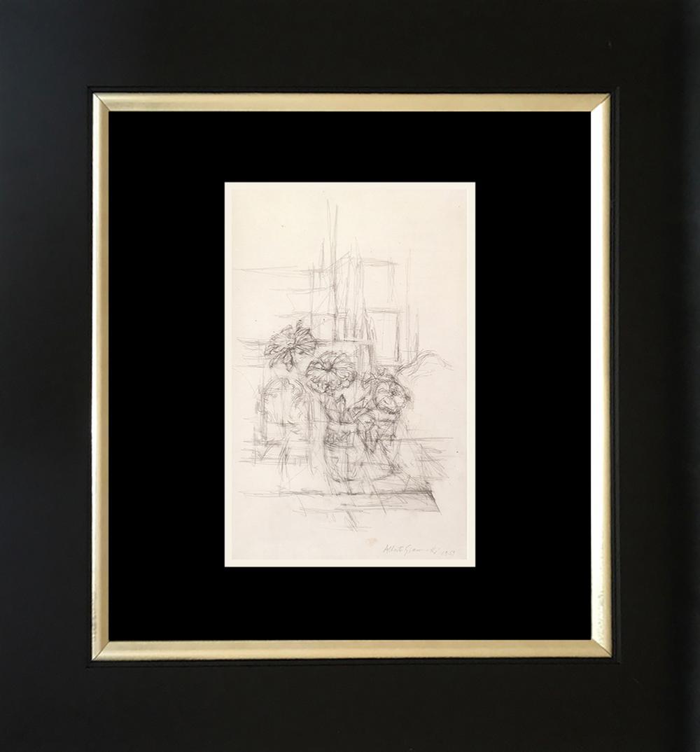 Lot 3315: Alberto Giacometti Lithograph