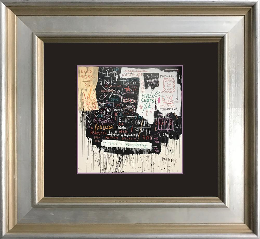Lot 3278: Jean Michel Basquiat Lithograph from 1992