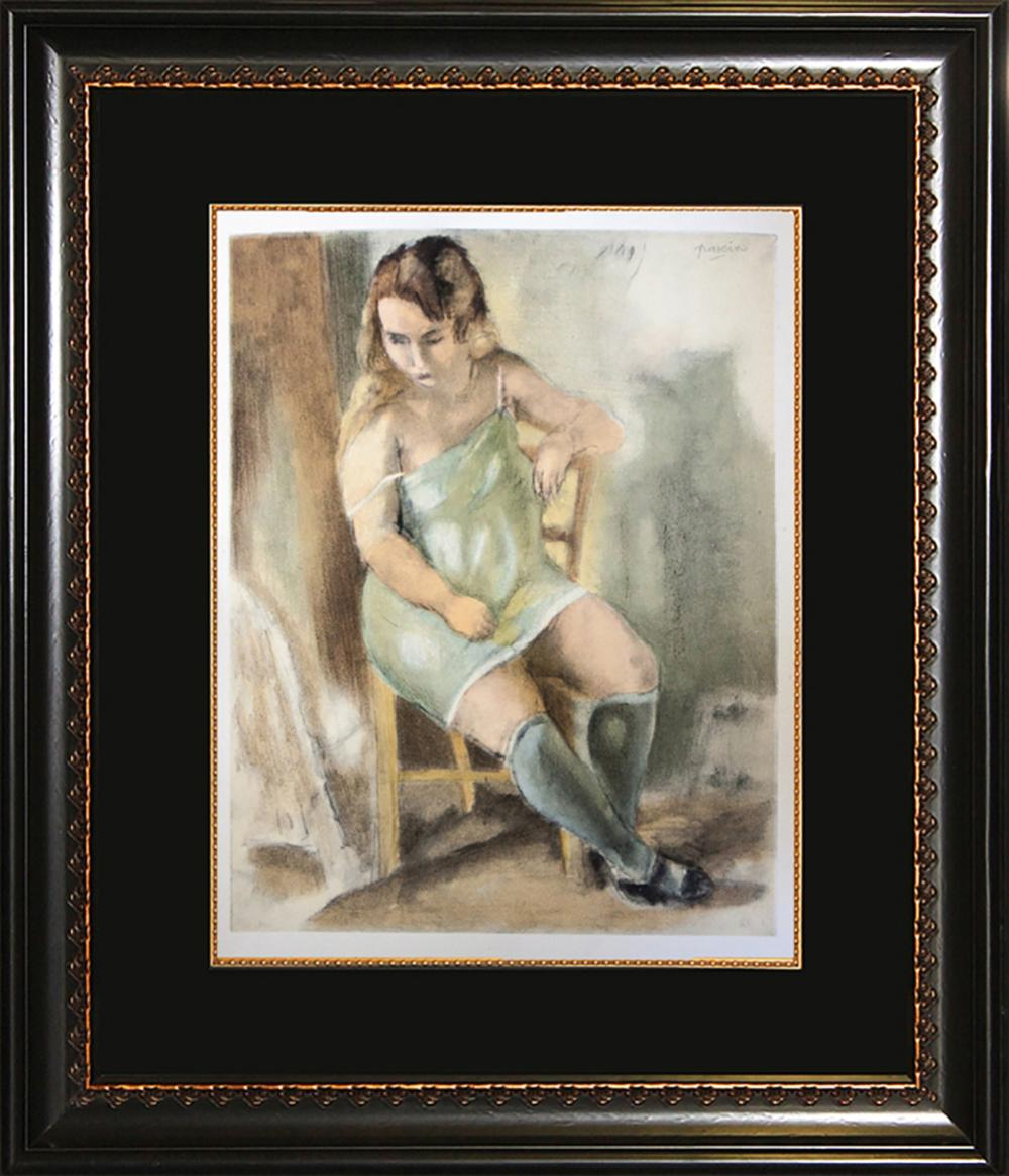 Lot 3256: Jules Pascin Lithograph Mourlot Press over 60 years old