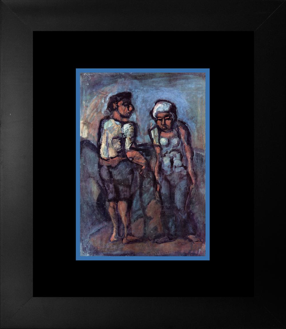 Lot 3314: Georges Rouault Fraulein Lithograph 1957