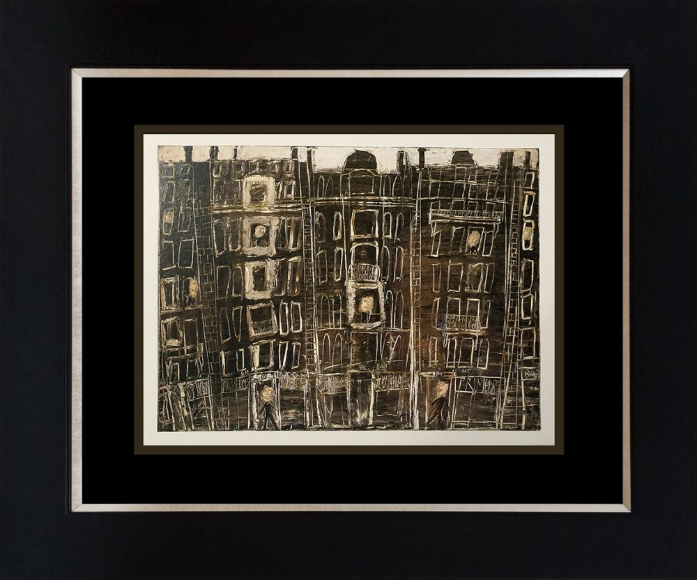 Lot 3279: Jean Dubuffet Color Plate Lithograph from 1968