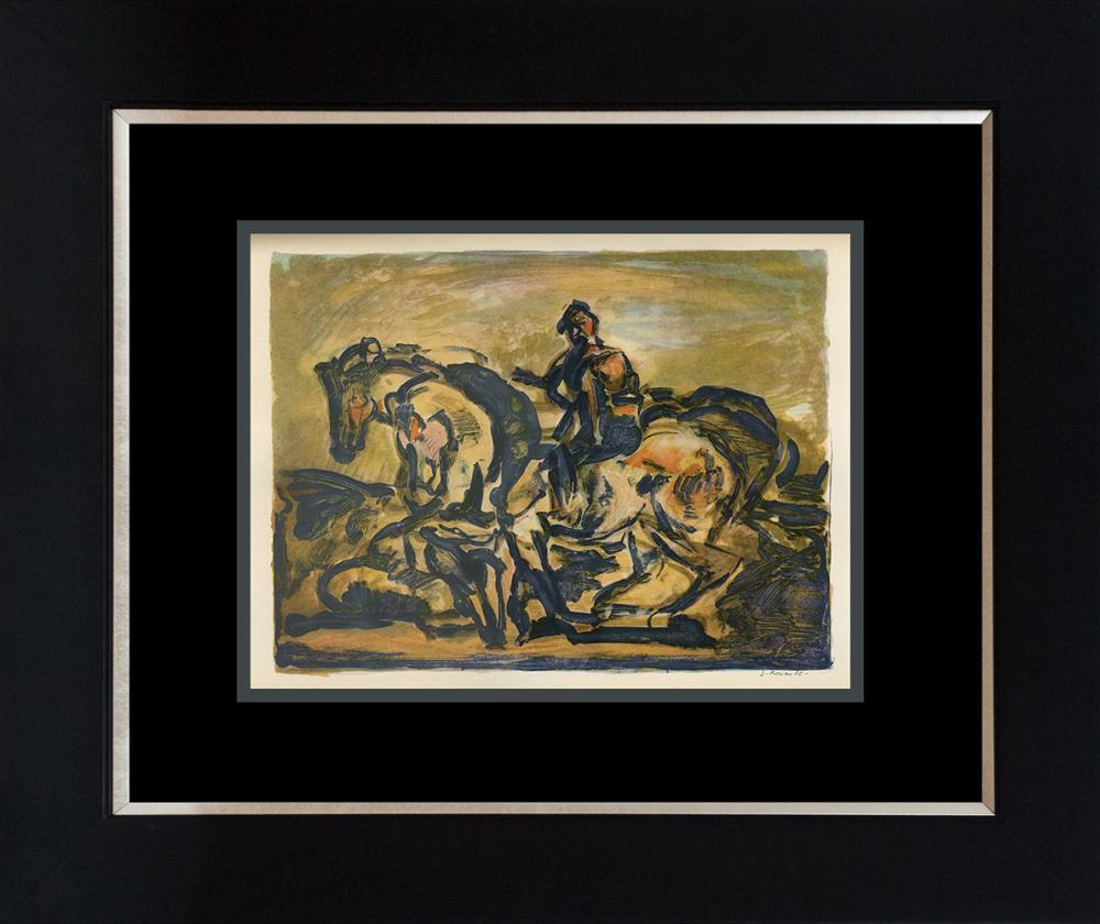 Lot 3313: Georges Rouault Color Plate Lithograph from 1957