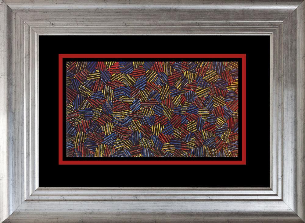 Lot 3285: Jasper Johns color plate Lithograph 1975