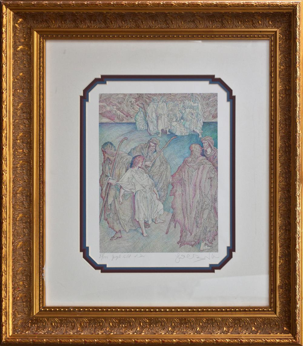 Lot 3318: Guillaume Azoulay lithograph limited edition