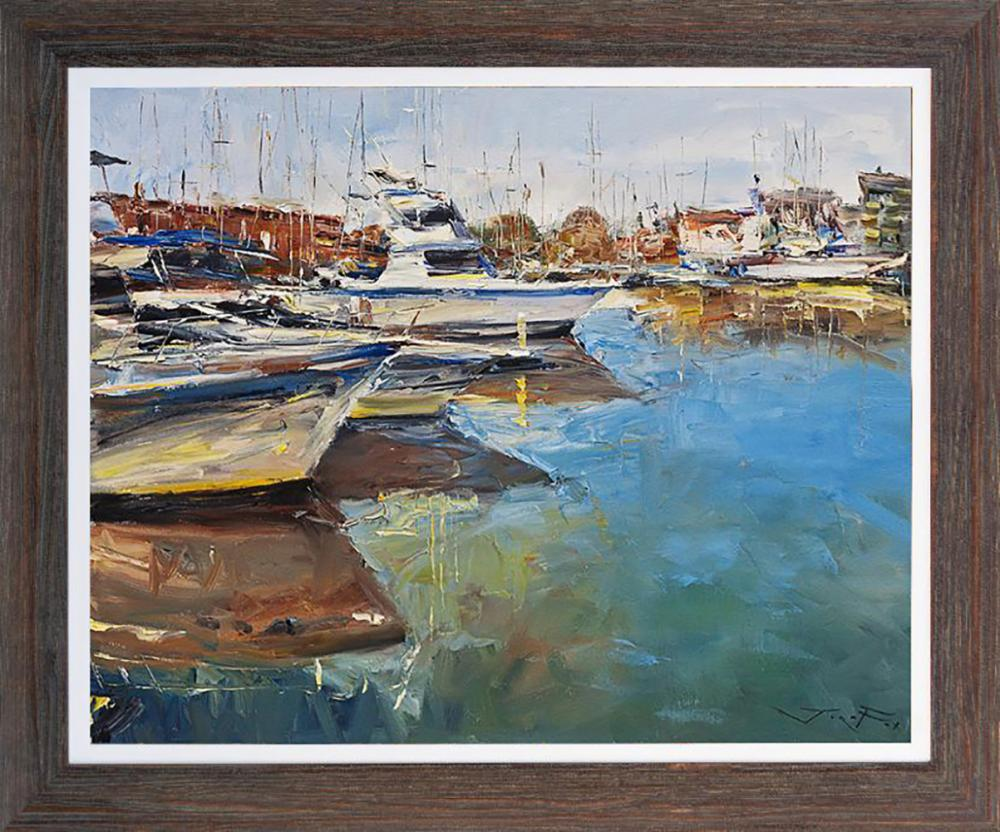 Lot 3379: Jorn Fox original on canvas