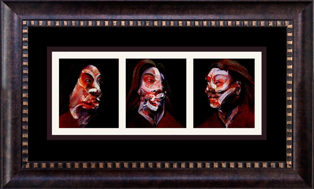 Lot 3339: Francis Bacon Lithograph from 1978 Triptych